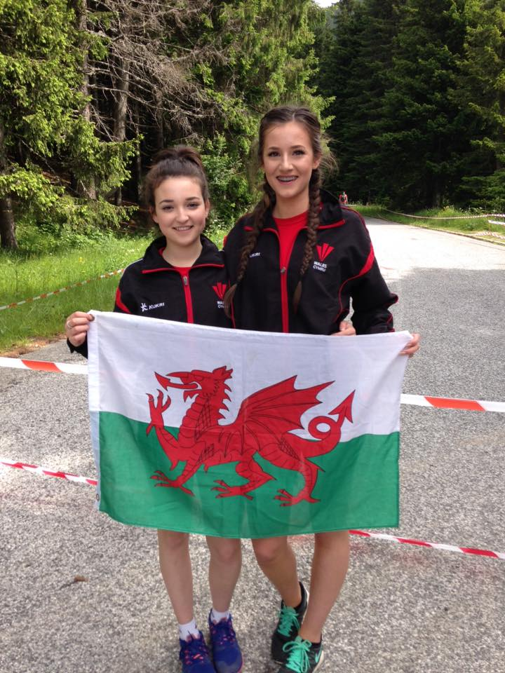 Ffion Quan and Caitlin Page in Bulgaria