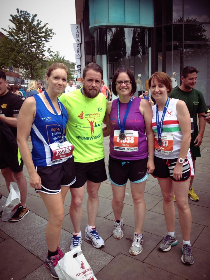 Swansea Half with Shane Williams